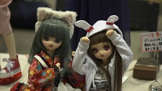 Japanese doll collectors gather for festival