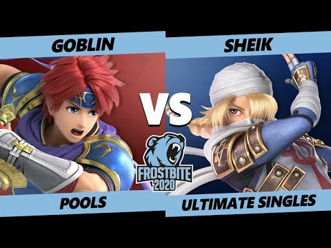 Frostbite 2020 SSBU Pools - APE | Goblin (Roy) Vs. CLG | Void (Sheik) Ultimate Singles - SSBU