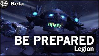 preparing for legion launch