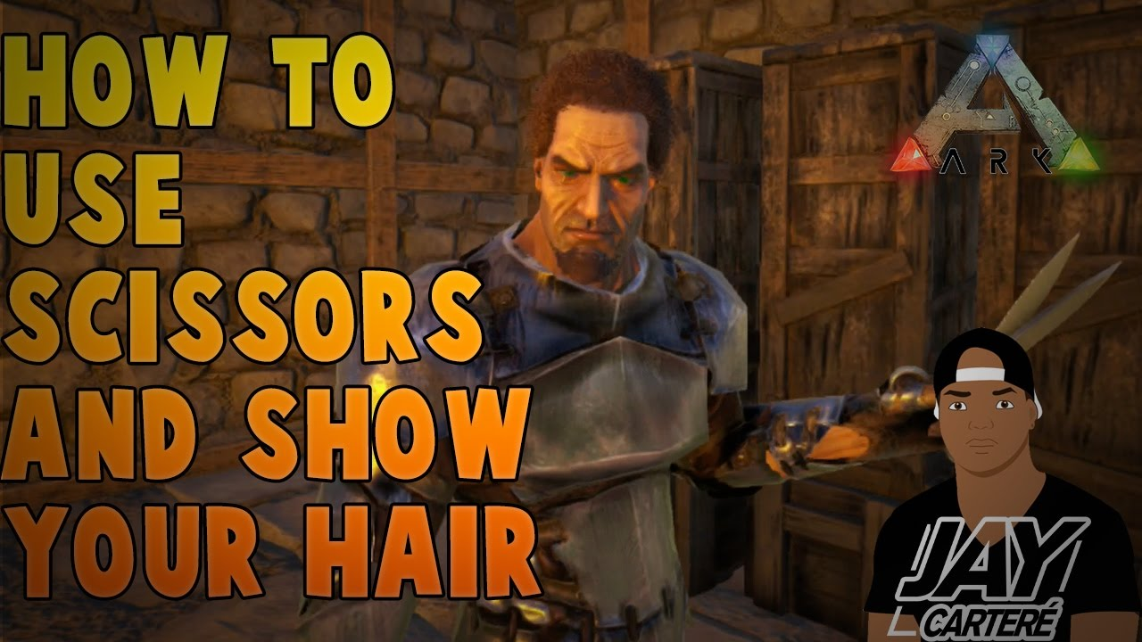 Ark Survival Evolved Ps4 Tutorial How To Use Scissors How To