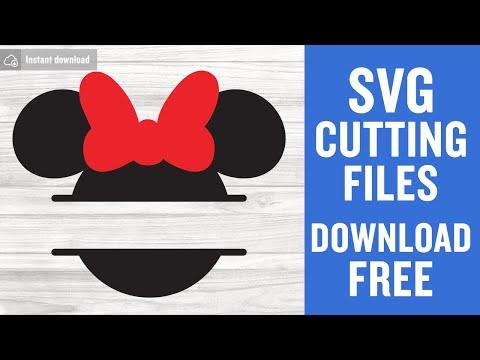 Cricut Cut Files Disney svg file Santa Minnie Mouse SVG and PNG instant download Instant Download Minnie Mouse svg Silhouette Cut Files