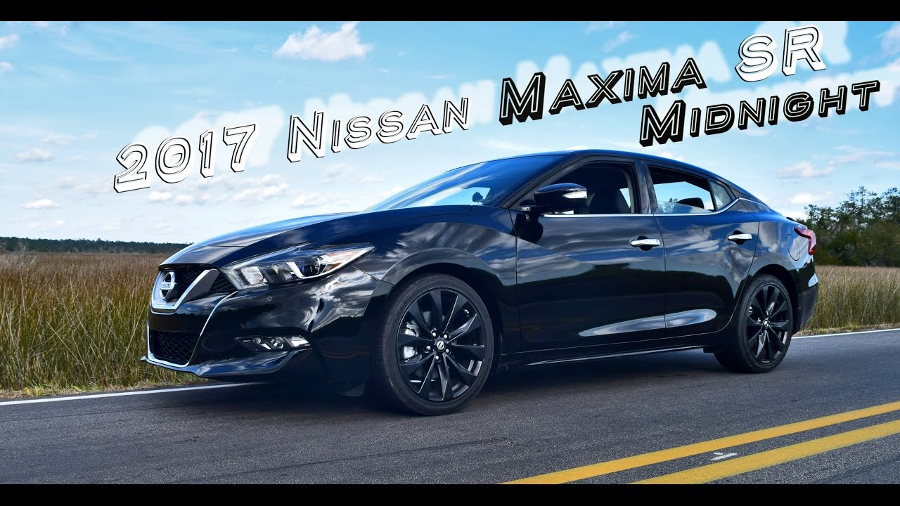 hd performance drive review 2017 nissan maxima sr midnight edition youtube. Black Bedroom Furniture Sets. Home Design Ideas