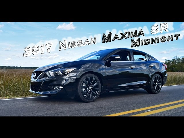 Hd Performance Drive Review 2017 Nissan Maxima Sr Midnight Edition You