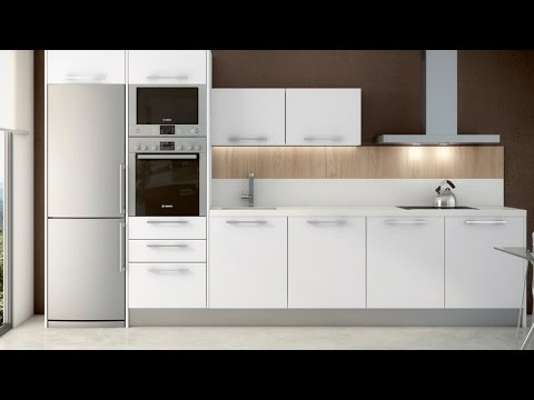Cocinas peque as y alargadas c mo sacarles el m ximo for Cocinas modernas pequenas alargadas
