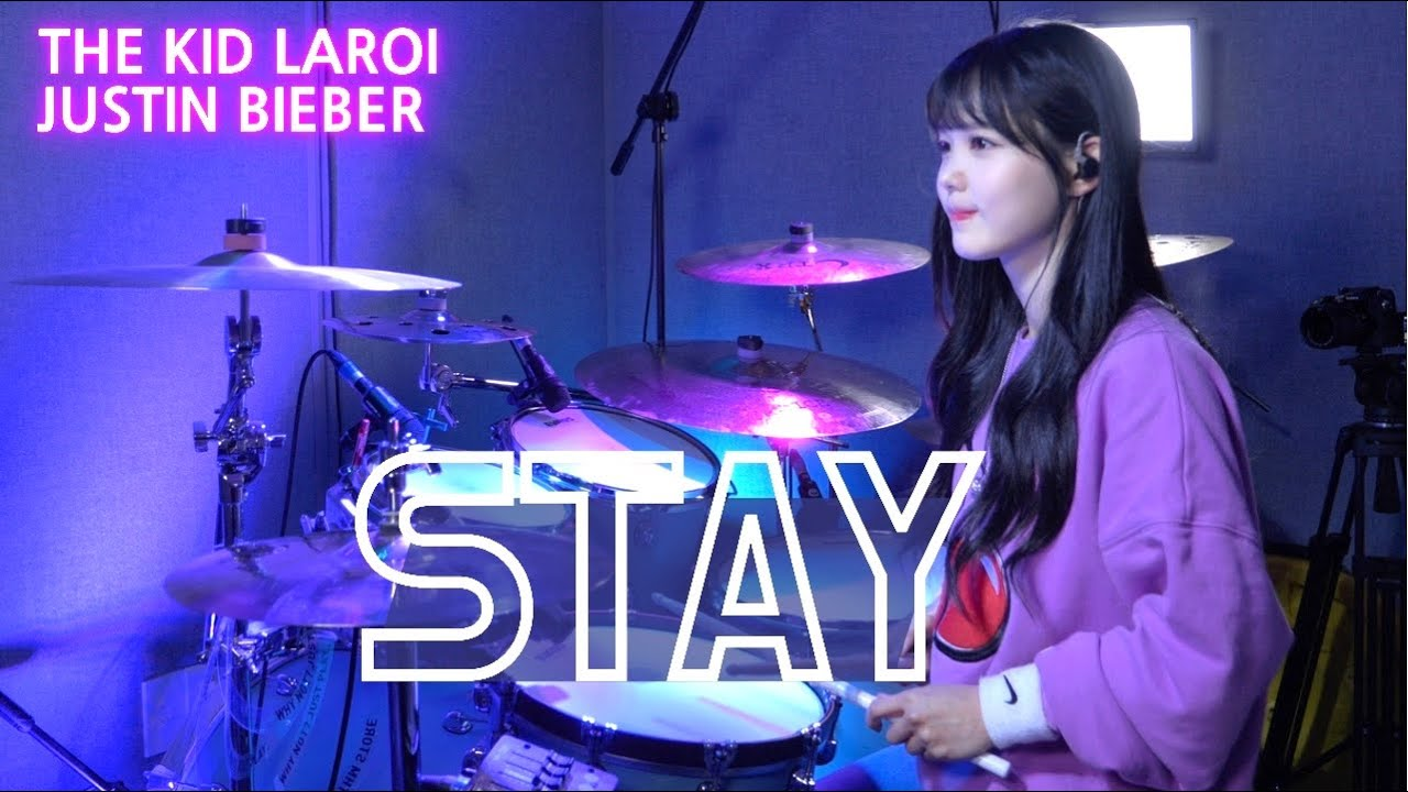 The Kid LAROI, Justin Bieber - Stay DRUM | COVER By SUBIN