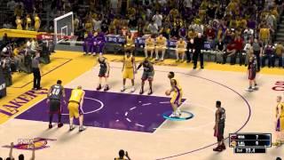 NBA 2K14 - PC Gameplay - LA Lakers vs Miami Heat