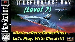 Independence Day (PSX) Level 7 (with cheats)