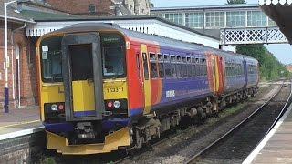 East Midlands Trains On Nottingham & Skegness Services At Sleaford