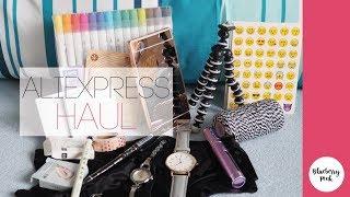 ALIEXPRESS HAUL | nákupy ve slevách | BLUEBERRY PINK