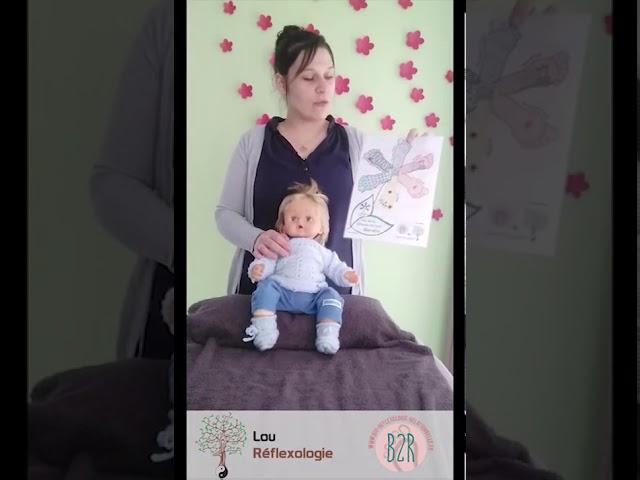 La Réflexologie pour les enfants, réalisée par les parents