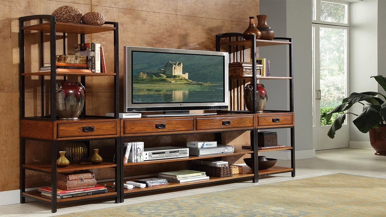 Excellent Entertainment Center Storage Ideas | DIY A Stylish TV Stand Design