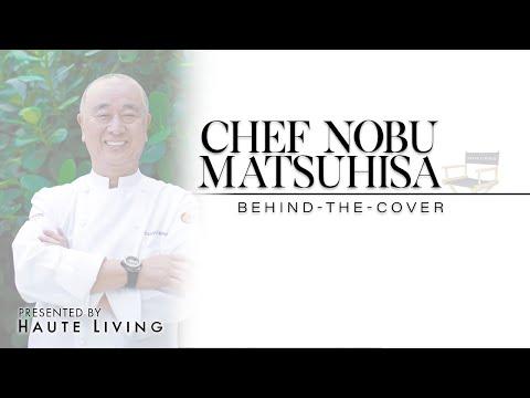 Behind the scenes with Chef Nobu Matsuhisa for Haute Living Miami
