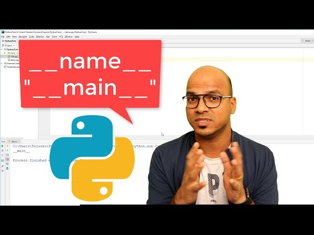 #46 Python Tutorial for Beginners | Special Variable __name__