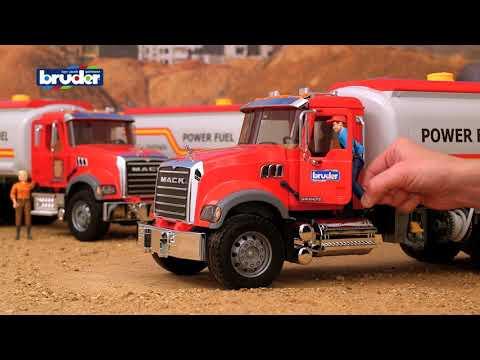 Bruder Toys Mack Granite Tanker Truck - #02827