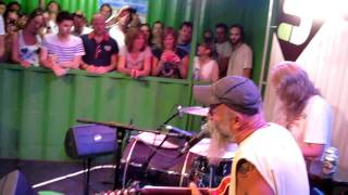 3 on Stage Lowlands 2011: Seasick Steve
