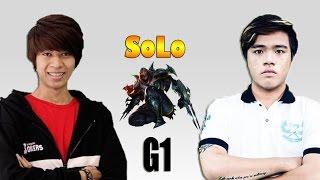 Junie vs QTV: Solo Zed   Game 1