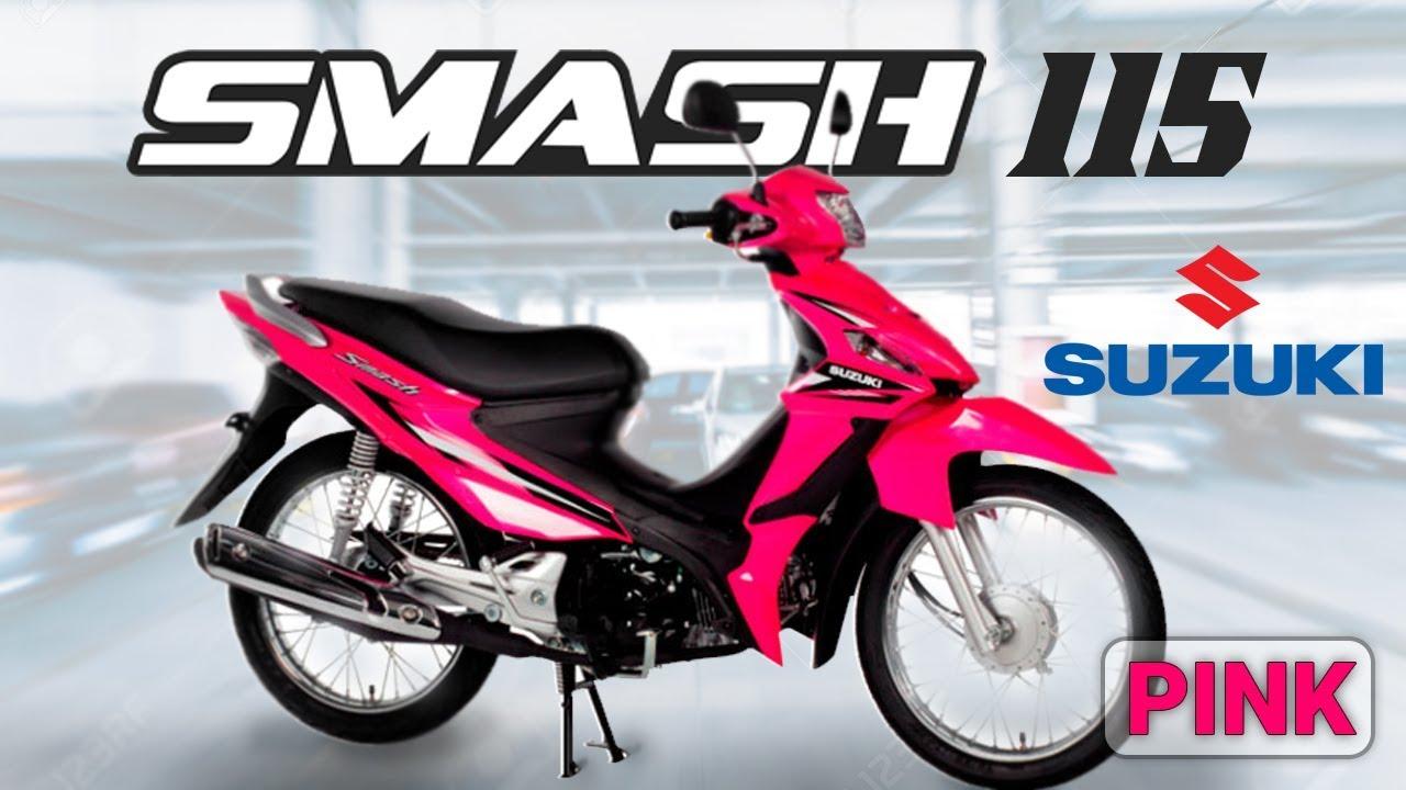 Smash 115 Color Pink 2017 Edition Suzuki Philippines