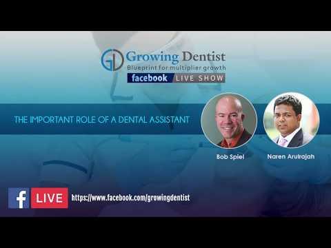 Growing Dentist Podcast Show : Facebook live : Naren and Bob Spiel : Continuing Education - Dental