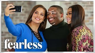 'Fearless': Ashley Graham and Winnie Harlow Surprise Aspiring Actor