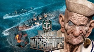BATALHE NOS OCEANOS MAIS ADVERSOS EM WORLD OF WARSHIPS