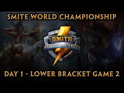 Smite World Championship: Day 1, Match 6 - Lower Bracket Game 2