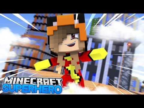 Thumbnail: SUPERHERO BABY ARIANA SAVES HER SISTER!! w/Baby Ellie (MInecraft Roleplay)