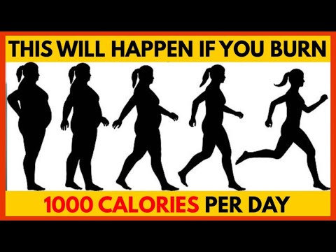 What Happens if You Burn 1,000 Calories Per Day?