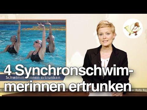 Vier Synchronschwimmerinnen ertrunken [Postillon24]