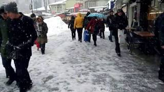 09 Ocak 2017 Istanbul Kadıköy Kar Yağışı 09 January 2017 Istanbul Snow