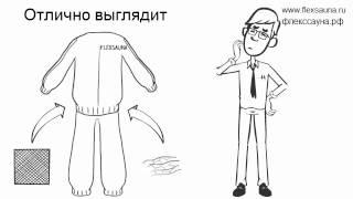 Преимущества костюма сауна для похудения FlexSauna перед другими костюмами