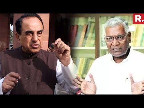 Subramanian Swamy And D Raja Reacts On Kathua Incident | Kathua Case