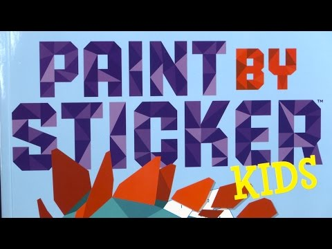 Paint By Sticker Kids from Workman Publishing
