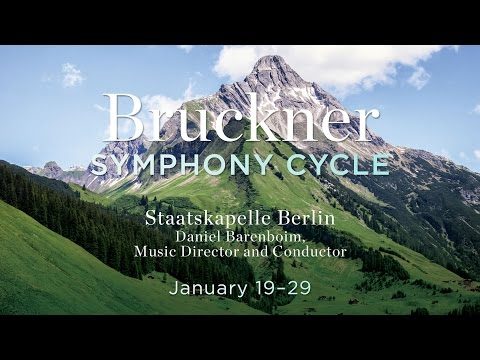 Daniel Barenboim: Bruckner Symphony Cycle