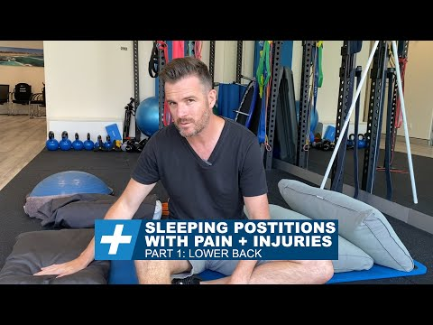 Sleeping Positions With Pain + Injuries - Pt.1 Lower Back | Tim Keeley | Physio Rehab