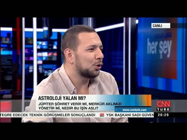 Tevfik Uyar Astrolojinin Bilimle İmtihanı CNNTurk