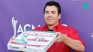 Papa John's Founder Says N-Word, Resigns