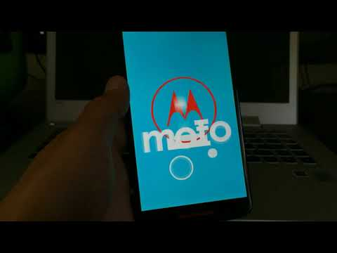 Moto X Play Android Nougat 7.1.1 installation (soak test)