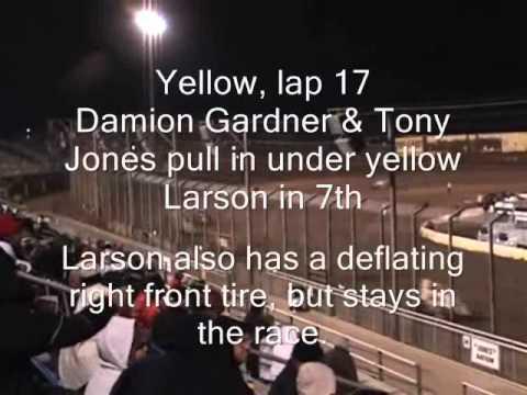 Kyle Larson - A Main - Glenn Howard Memorial Race - Perris Auto Speedway