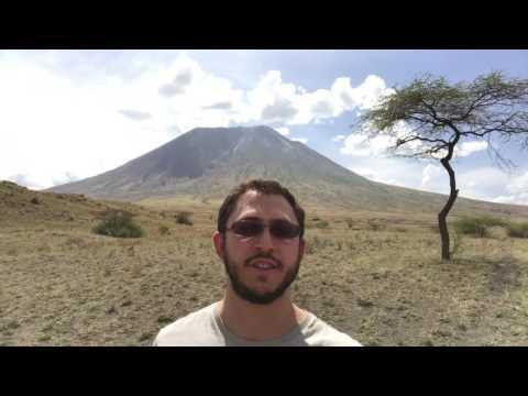 The Tanzaia Safari: Oldonyo Lengai Volcano - vlog 7