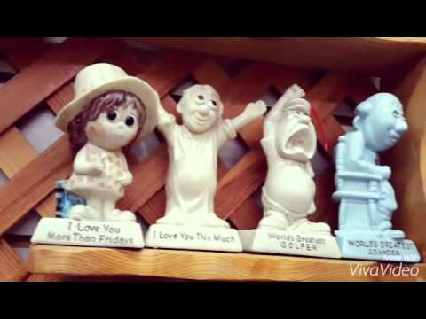 funny figurines at rusty retro antiques