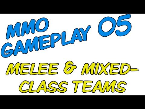 MMO Multiboxing Gameplay [ISBoxer 41] -- Part 05: Melee & Mixed-Class Teams