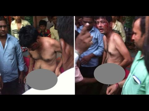 Indian Man has his PE*IS cut off by Angry mob