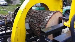 pilołuparka kombajn do drewna SAM DIY 2018