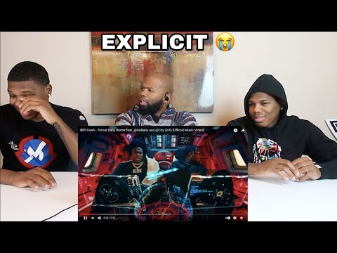 REACTION! (DAD WALKS OUT) BRS Kash-Throat Baby Remix featDaBaby andCity Girls [Official Music Video]