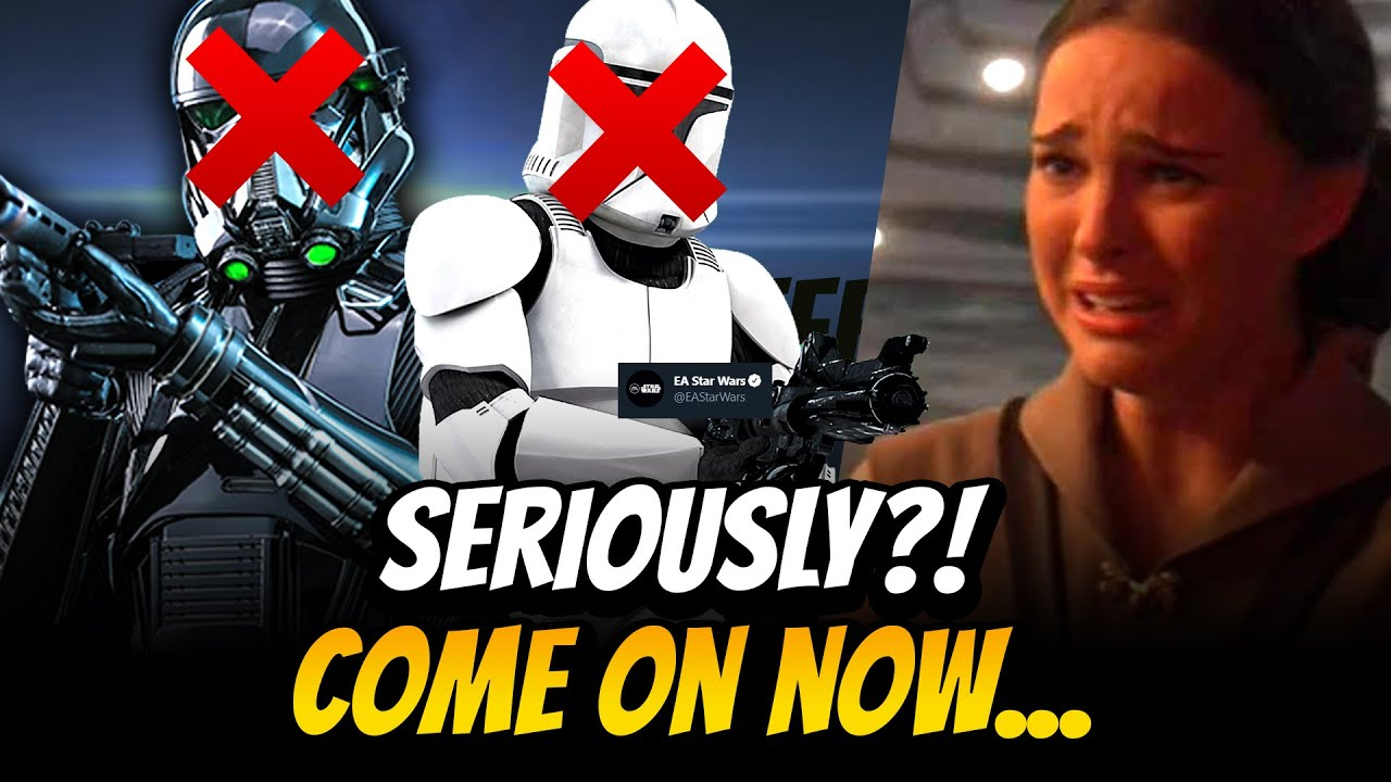 You're Kidding Me Right? EA's Tweet Disappoints Star Wars Fans Across the Galaxy...