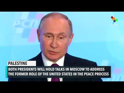 Palestine To Ask Russia To Help With Peace Process