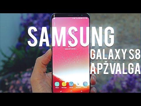 Samsung Galaxy S8 apžvalga – Varle.lt