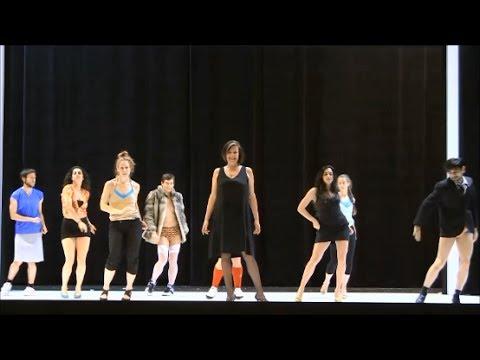 Backstage JEKYLL & HYDE:  Susan Rigvava-Dumas (Lucy Harris)