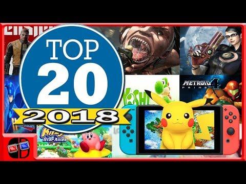 Top 20 Jogos Para Nintendo Switch em 2018