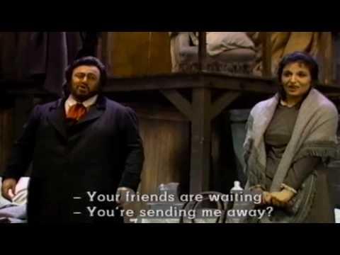 """""""O soave fanciulla"""" La boheme Luciano Pavarotti & Fiamma Izzo d' Amico"""